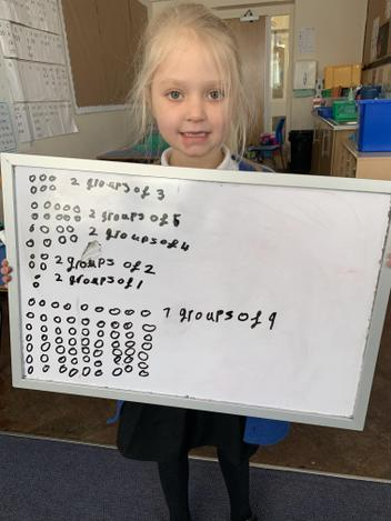 Ava adapting our worksheet activity.