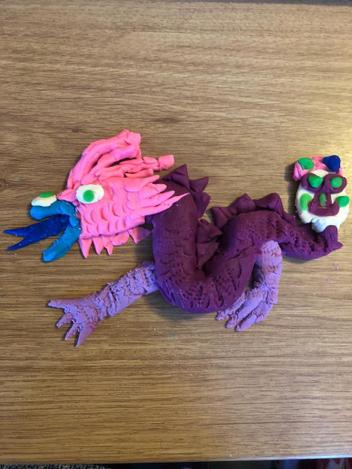 If you haven't done the dragon activity from yesterday maybe Eleanor's will inspire you.