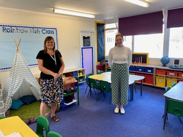 Miss Hibbert and Mrs Boorman are looking forward to meeting you all this week.