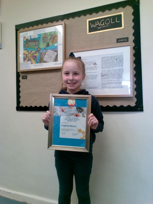 Overall Winner - Sophia, Y4.