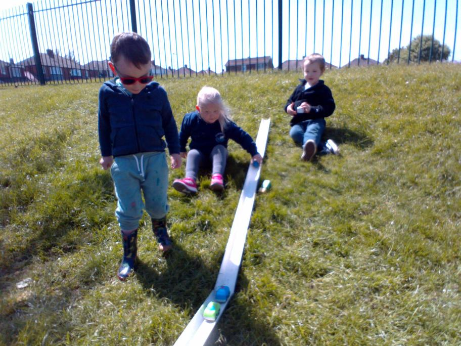 Racing our cars