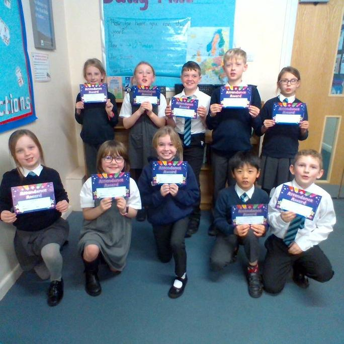 Y4 Bronze and Silver awards.