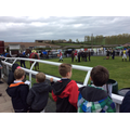 Watching the horses in the Parade Ring