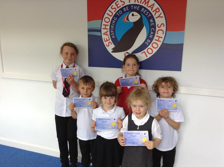 Kindness - Seahouses Star Award