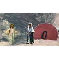 The Angel tells Mary