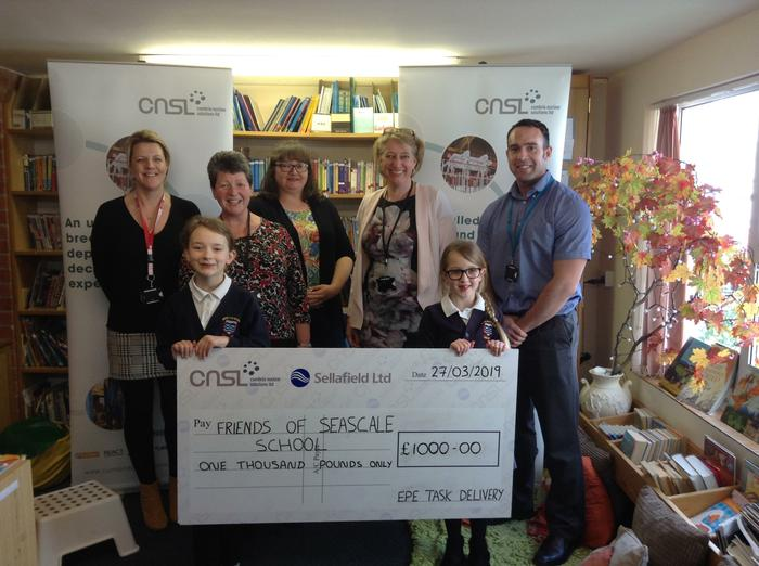 Shepley / Sellafield donation of £1,000 Thank You!