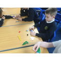 Using Lego in a game of classification.