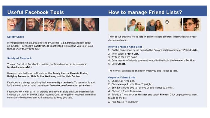 A guide to Facebook for parents.  Use the link below to access the full document.