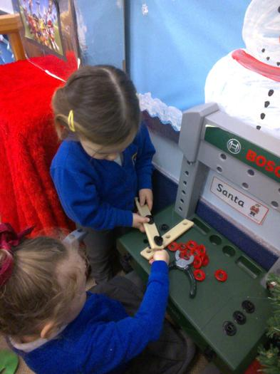 We have been working hard in Santa's workshop