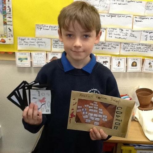 Jacob's Ancient Egyptian Snap Cards