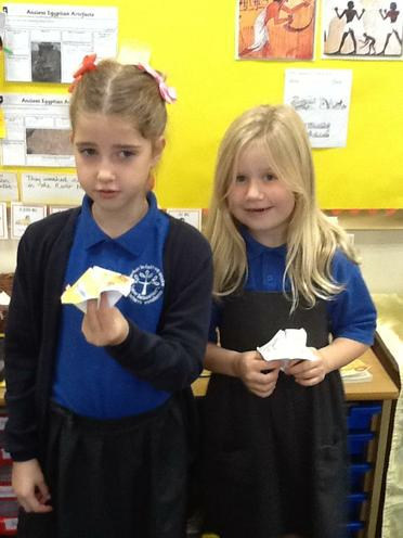 Ava & Polly's Ancient Egyptian Fortune Tellers