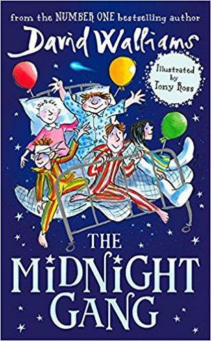 We are reading The Midnight Gang by David Walliams