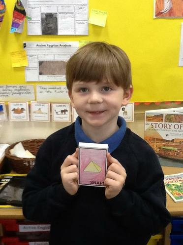Harrison's Ancient Egyptian Snap Cards