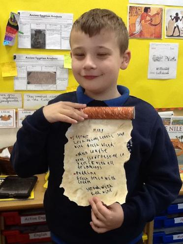Rhyley's Menu Scroll