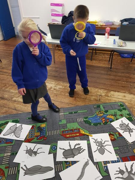 Aviah and Ernies bug hunt