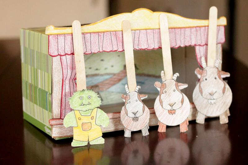Puppet show example
