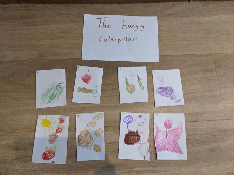 Leias story sequencing for choosing