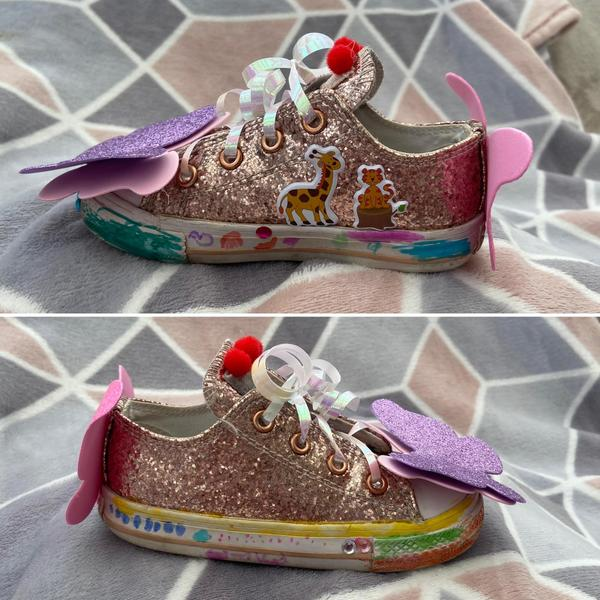Emilys very cool shoe design