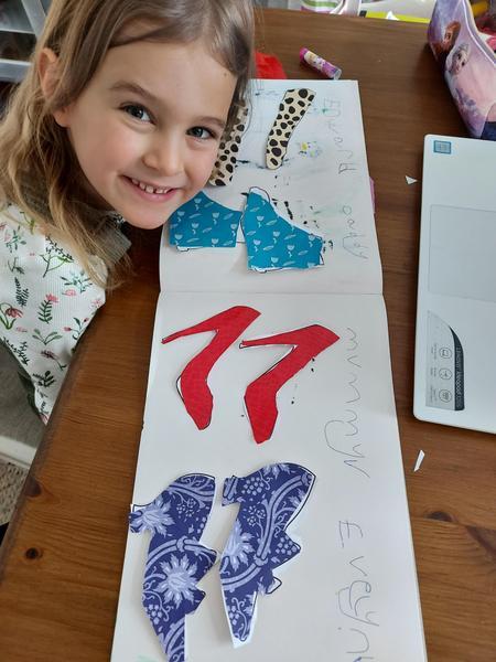 Evelyns cool family shoe design