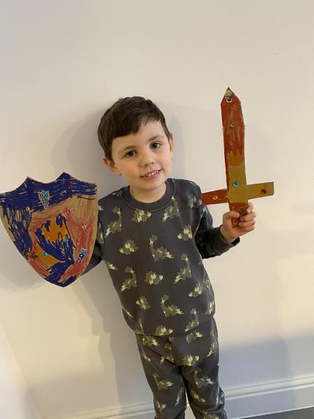 Freddies prince sword and shield
