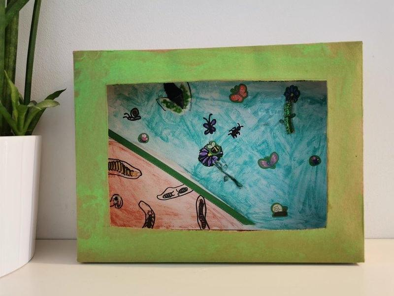 Isabella's Minibeast Collage