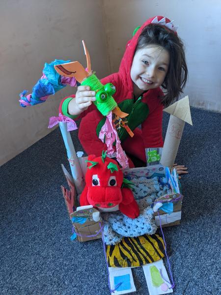 Leais dragon crafts