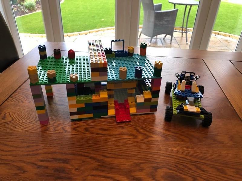 Harveys epic Lego castle and car