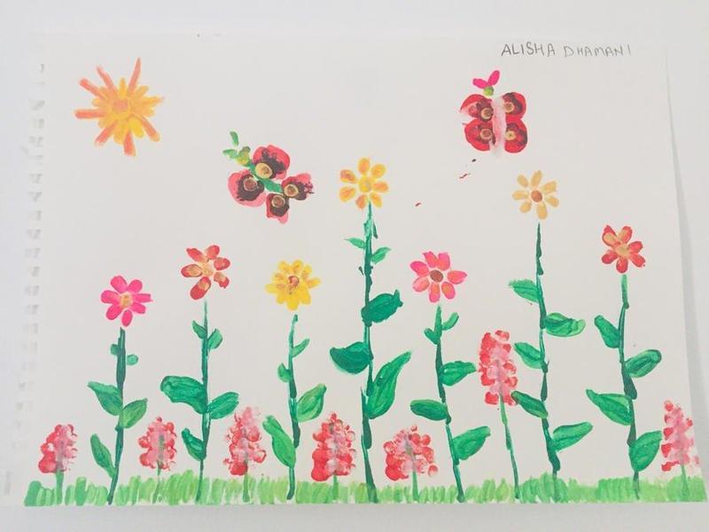 Alisha's NHS Artwork - may it bring peace to those who need it x