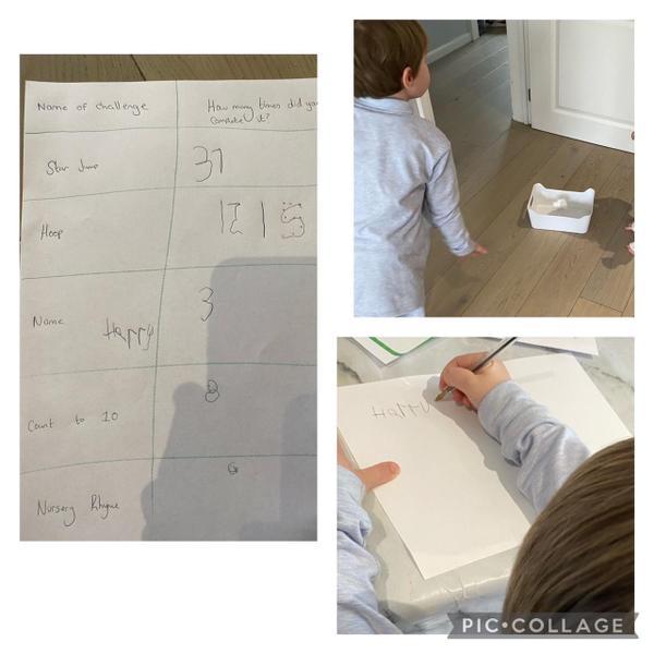 Harrys maths task