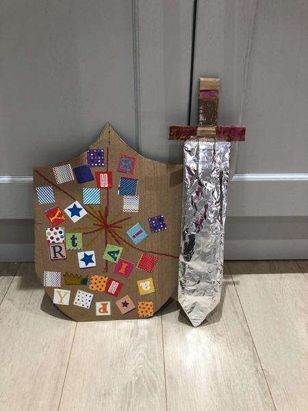 Harveys amazing sword and shield