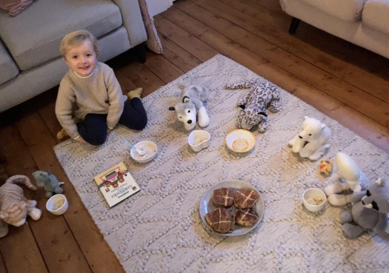 Foxs tea party