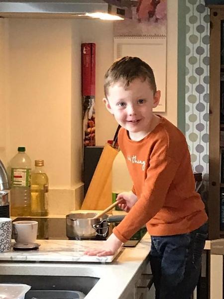 Harveys porridge making