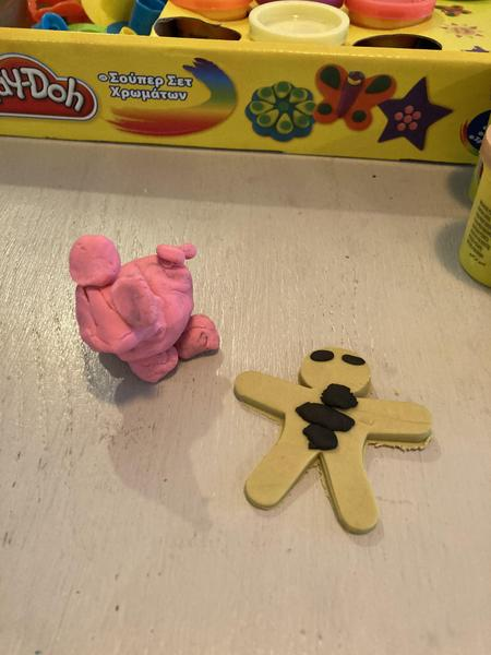 Foxs great playdoh characters