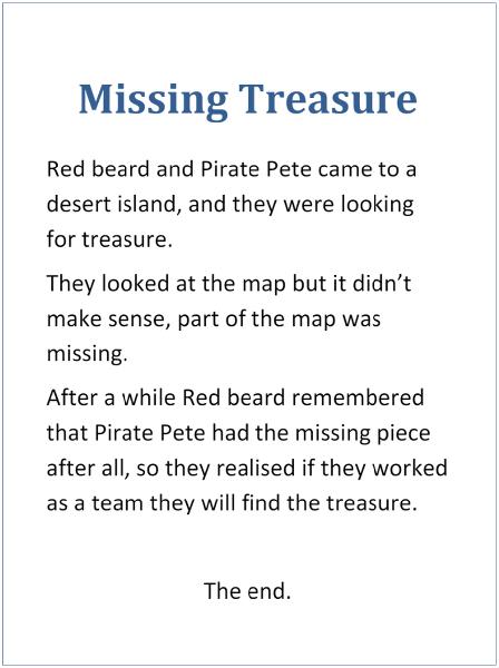 Spencer's Missing Treasure Y1