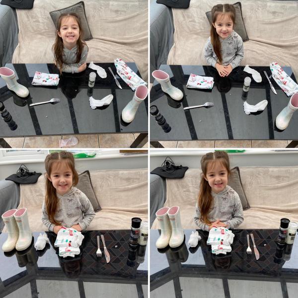 Emily making pairs