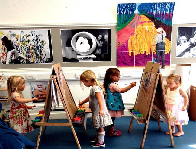 Our Art studio.