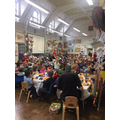 Christmas Lunch in the Infant hall