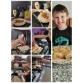 A great effort with your cooking Alex!