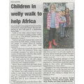 Farm Africa Welly Walk - Published 15/10/2015