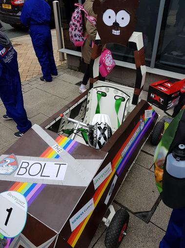 Our 'Barwic Bear' race car