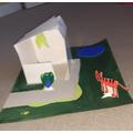 A brilliant animal habitat by Julia!
