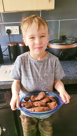 Charlie's Chocolate Cookies look delicious!