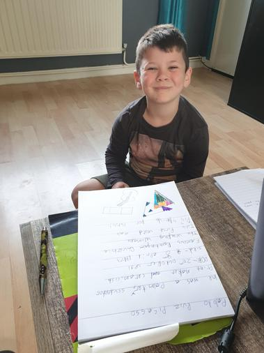 Ollie has created a fact-file about Pablo Picasso