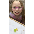 Gummy bear experiment using osmosis