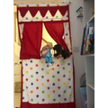 Puppet show from Isabella