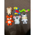 Lovely felt animals from Oliver and Amelia