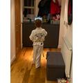 Karate practise