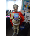 Year 4 winner - Sam dressed as Captain Underpants