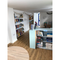 New tables, shelves and books!
