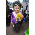 Year 2 winner - Ella dressed as Gangster Granny